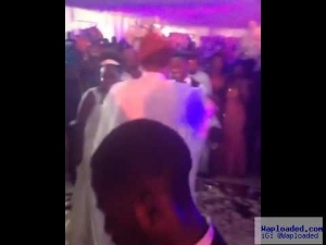 E-Money In Action!! Money Rain At Onazi Ogenyi's Wedding